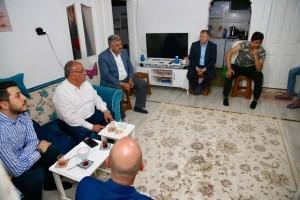 Başkan Hasan Can, Çakmak Mahallesinde Ev Ziyaretinde Bulundu