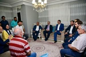 AK Parti İstanbul İl Başkanı Bayram Şenocak ve Ümraniye Belediye Başkanı Başkan Hasan Can Seçmen Ziyareti Gerçekleştirdi