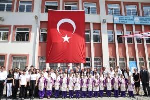 Ümraniye'de 2017-2018 Eğitim Öğretim Yılı Kapanış Töreni Gerçekleştirildi