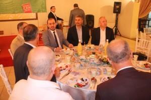 Ümraniye Belediyesi, Ümraniye Din Görevlileri Derneğini Sahur Programında Ağırladı