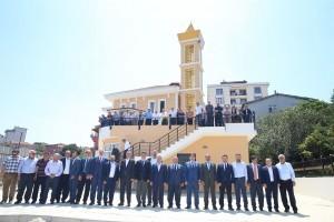 Necip Fazıl Mahallesi Hacı Nurten Camiinin Açılış Töreni Gerçekleştirildi