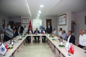AK Parti Genel Başkan Yardımcısı Mustafa Ataş ve Başkan Hasan Can İle AK Parti Ümraniye İlçe Başkanı Kiğı Sanayici ve İş Adamları Derneğini Ziyaret Etti