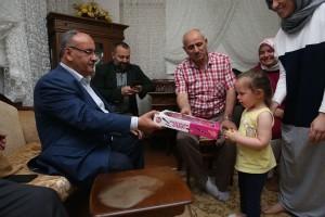 Başkan Hasan Can, Atatürk Mahallesinde Ev ve Esnaf Ziyaretleri Gerçekleştirdi