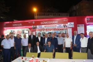 Başkan Hasan Can, Santral Etkinlik Alanı'ndaki Gümüşhaneliler Dernek Standını Ziyaret Etti