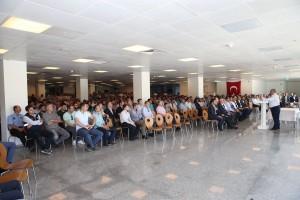 Başkan Hasan Can Belediye Personeliyle Bayramlaştı