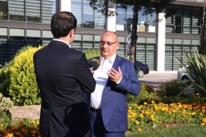 Başkan Hasan Can NTV'nin Canlı Yayın Konuğu Oldu
