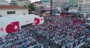 Başbakanımız Sayın Binali Yıldırım Ümraniye Belediyesi Tarafından Alemdağ Caddesi'nde Düzenlenen İftar Programına Katıldı