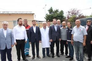 Enerji ve Tabii Kaynaklar Bakanı Berat Albayrak Ümraniye Belediyesi Hayvan Barınağı'nı Ziyaret Etti
