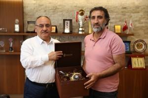 Almanya Big Partisi Rheiland-pfalz Bölge Başkanı Ertan Akmeşe'den Başkan Hasan Can'a Ziyaret