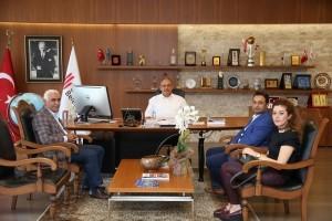 TOKİ Esenkent Ortaokulu'ndan Başkan Hasan Can'a Ziyaret