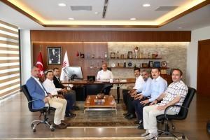 BEM-BİR-SEN 7 Nolu Şube Başkan Adayı Yavuz Selim Çavuşoğlu'ndan Başkan Hasan Can'a Ziyaret