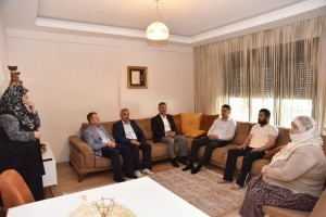 Ümraniye Belediyesinin Şehit Aileleri ve Gazilere Ziyaretleri Devam Ediyor