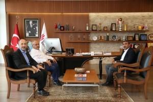 Kars Susuz Belediye Başkanı Murat Uray'dan Başkan Hasan Can'a Ziyaret