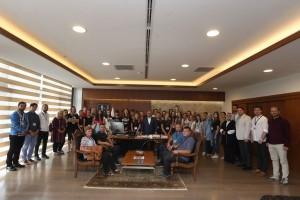 Başkan Hasan Can, Bosna-Hersekli Öğretmen ve Öğrencileri Ağırladı