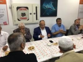Başkan Hasan Can Esenkent Mahalle Muhtarı'na Taziye Ziyaretinde Bulundu