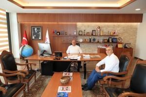 Yeşilay Ümraniye Şube Başkanı'ndan Başkan Hasan Can'a Ziyaret