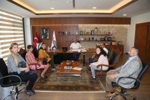 Nevzat Ayaz Anadolu Lisesi'nden Başkan Hasan Can'a Ziyaret