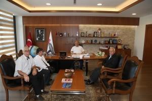 Başkan Hasan Can Kıbrıs Gazilerini Ağırladı
