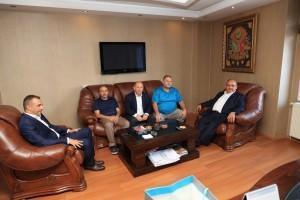 Başkan Hasan Can'dan Ümraniyeli Avukat Mehmet Yavuz'a Ziyaret