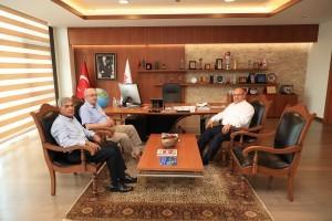29 Mayıs Üniversitesi Mütevelli Heyeti'nden Başkan Hasan Can'a Ziyaret