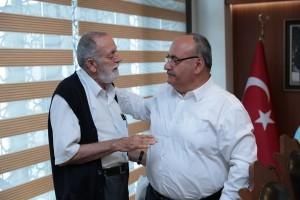 Atakent Mahalle Teşkilatı Mensubu Hüseyin Akın'dan Başkan Hasan Can'a Ziyaret