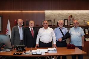 İstanbul Dostluk Derneği'nden Başkan Hasan Can'a Ziyaret