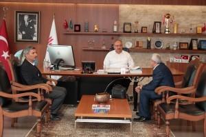Kazım Karabekir Cem Evi Eski Başkanı Mustafa Kılıç'tan Başkan Hasan Can'a Ziyaret