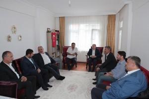 Başkan Hasan Can'dan 15 Temmuz Gazisi Yavuz Yanmaz'a Ziyaret