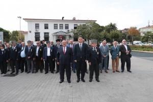 19 Eylül Gaziler Günü İçin Ümraniye'de Resmi Tören Düzenlendi