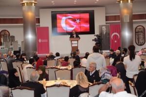 Başkan Hasan Can, Gaziler ve Şehit Aileleriyle Yemek Programında Bir Araya Geldi