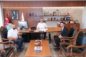 15 Temmuz Gazisi Ersin Şahin'den Başkan Hasan Can'a Ziyaret