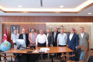 Ümraniye Trabzonlular Derneği'nden Başkan Hasan Can'a Ziyaret