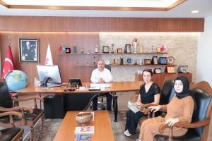 Ümraniye Sağlıklı Yaşam Merkezi'nden Başkan Hasan Can'a Ziyaret
