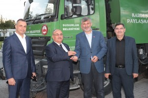 Başkan Hasan Can Balıkesir Susurluk Belediye Başkanı Hüseyin Hızlıoğlu'nu Ağırladı