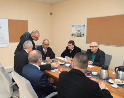 Başkan Hasan Can Ümraniye Büyük Camii Mütevelli Heyeti Toplantısına Katıldı