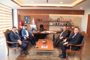AK Parti İstanbul Milletvekili Osman Boyraz'dan Başkan Hasan Can'a Ziyaret