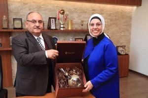 AK Parti İstanbul Milletvekili Dr. Ravza Kavakçı Kan'dan Başkan Hasan Can'a Ziyaret