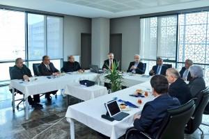 Başkan Hasan Can 29 Mayıs Üniversitesi Mütevelli Heyeti Toplantısı'na Katıldı