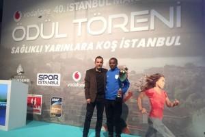 Avrasya Maratonu'na Ümraniye Belediyesi Gençlik ve Spor Kulübü Sporcuları Damgasını Vurdu