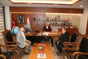 Ümraniye Metropol Gazetesi'nden Başkan Hasan Can'a Ziyaret