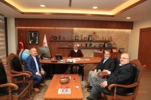 İlim Yayma Cemiyeti Beykoz Şube Başkanı ve Anadolu Hisarı İlme Hizmet Vakfı Başkanı'ndan Başkan Hasan Can'a Ziyaret