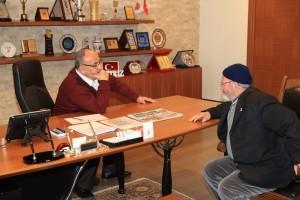 Başkan Hasan Can, 15 Temmuz Şehidi Lokman Oktay'ın Babası Ahmet Oktay'ı Ağırladı