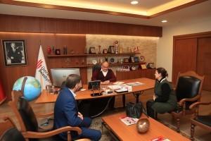 Ümraniye İlçe Nüfus Müdiresi Handan Tüfekçi 'den Başkan Hasan Can'a Ziyaret