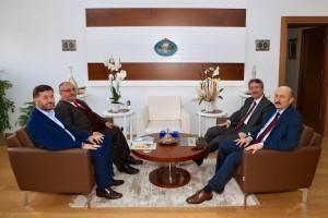 Başkan Hasan Can'dan İstanbul İl Milli Eğitim Müdürü Levent Yazıcı'ya Ziyaret