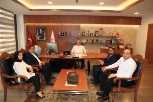 Van Kültürünü Yaşatma ve Dayanışma Derneği'nden Başkan Hasan Can'a Ziyaret