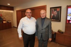 AK Parti Ümraniye Eski Meclis Üyesi Ramazan Büyükboyacı Başkan Hasan Can'ı Ziyaret Etti