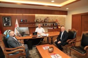 Namık Kemal Mahalle Muhtarı'ndan Başkan Hasan Can'a Ziyaret