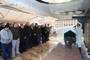 Başkan Hasan Can Ümraniyeli Umut Yalçın'ın Cenazesine Katıldı