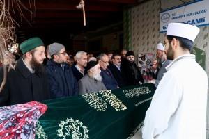 Başkan Hasan Can, Ümraniye Belediyesi Hizmet A.Ş Genel Müdürü Enver Kamış'ın Amcasının Eşinin Cenaze Törenine Katıldı
