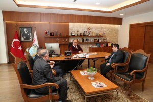İlim Yayma Vakfı İrfan Okulları Genel Müdürü'nden Başkan Hasan Can'a Ziyaret